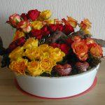 De rozen staan voor de liefde. Voor allen, die God op ons pad brengt